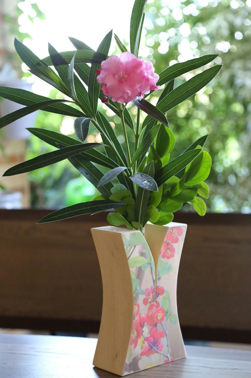 Hinoki Flower Pot